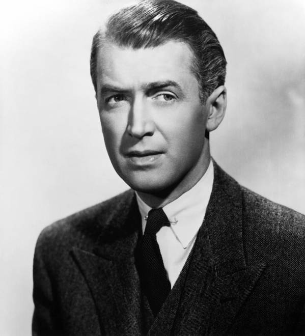 1940s Portraits Poster featuring the photograph Rope, James Stewart, 1948 by Everett