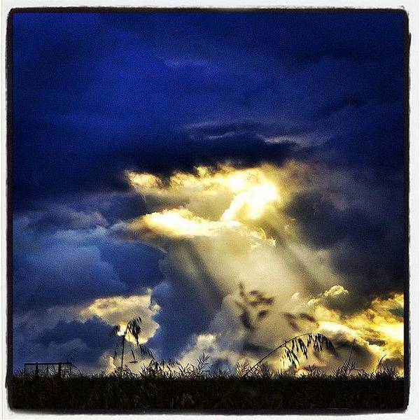 Primeshots Poster featuring the photograph The Gap In The Clouds by Carl Milner