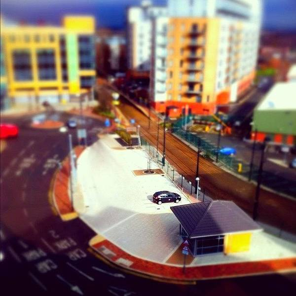 Poster featuring the photograph Tiny Salford by Jamie Emanuel