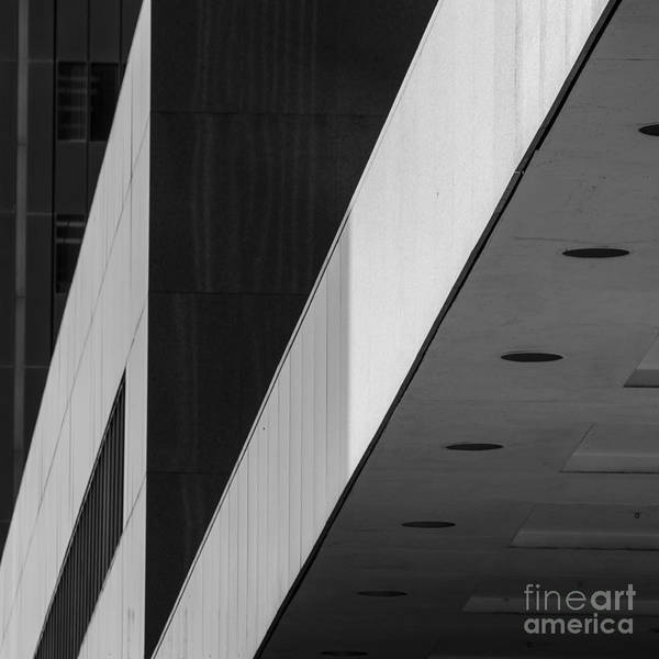 Architecture Poster featuring the photograph Triangles and Zig-Zag by Matt Trimble