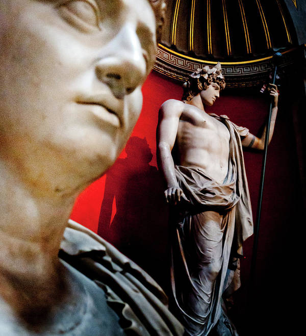 Roma Poster featuring the photograph Rotunda Colossals 1 Of 3 by Andy Smy