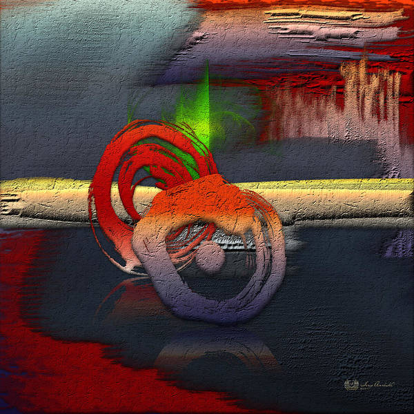 Abstracts Plus By Serge Averbukh Poster featuring the photograph The Night is Young by Serge Averbukh