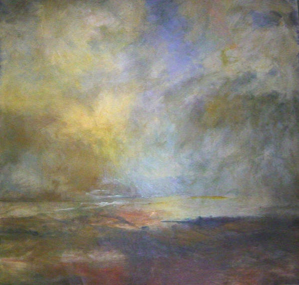 Landscape Poster featuring the painting Untitled 1 by Marilyn Muller