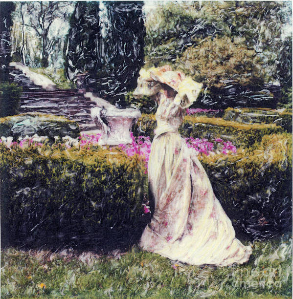 Garden Poster featuring the photograph Wind Through The Gardens by Steven Godfrey