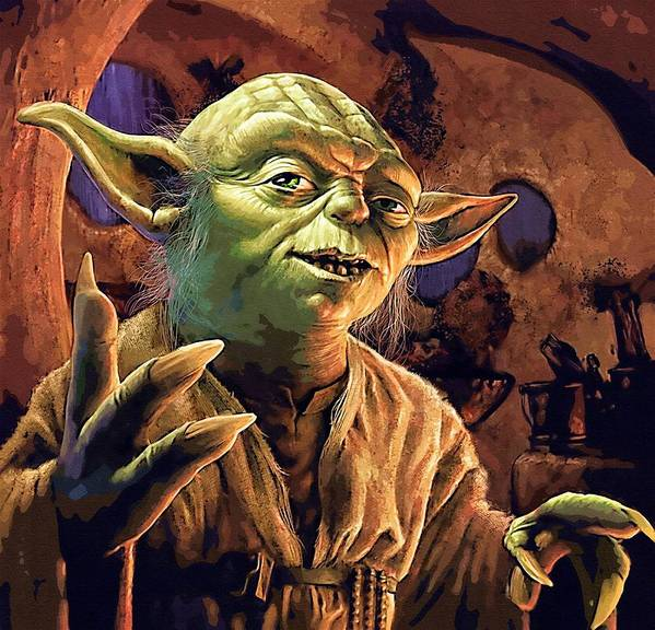 Star Wars Republic Poster featuring the digital art Video Star Wars Art by Larry Jones