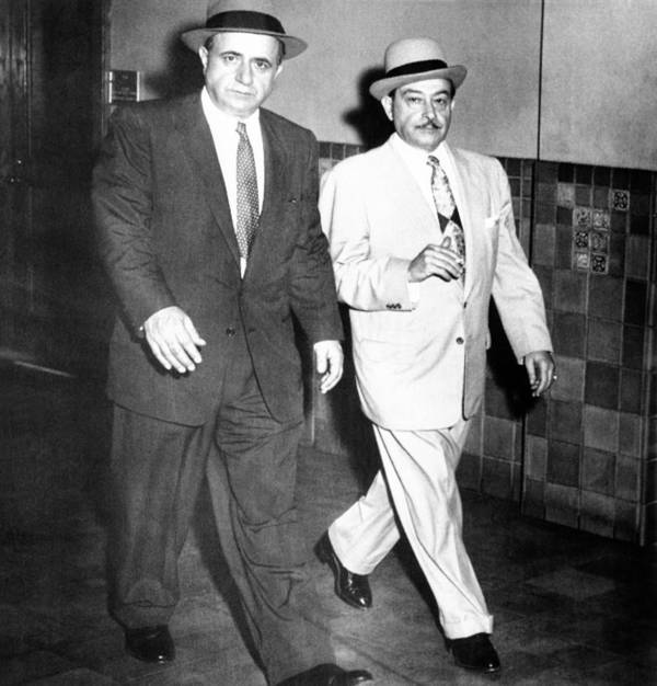 History Poster featuring the photograph Albert Anastasia Left Leaves Federal by Everett