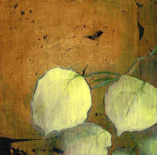 Oil Poster featuring the painting Aspen Leaves by Patt Nicol