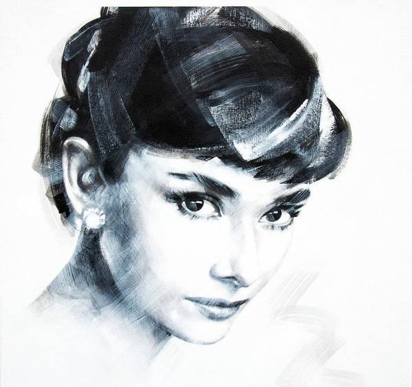 Audrey Poster featuring the photograph Audrey 2 by Jean Pierre Rousselet