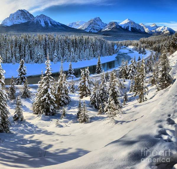 Morant Poster featuring the photograph Beautiful Bow Valley by Adam Jewell