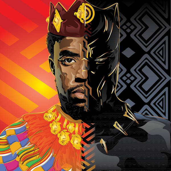 Black Panther Poster By Tec Nificent
