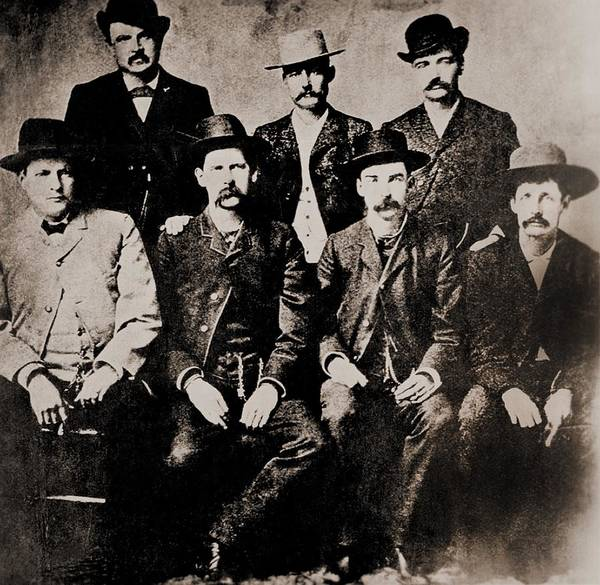 History Poster featuring the photograph Dodge City Peace Commissioners by Everett