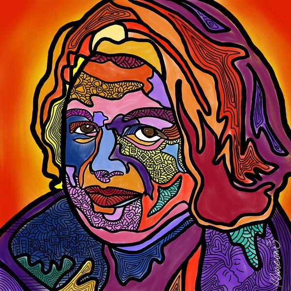 Edie Windsor Poster featuring the digital art Edie Windsor Soars Higher by Marconi Calindas