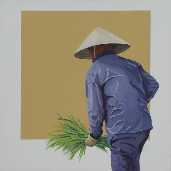 Field Worker Poster featuring the painting Field Hand by Marston A Jaquis