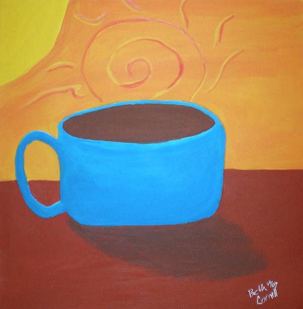 Good Morning Sunshine Poster featuring the painting Good Morning Sunshine by Beth Cornell