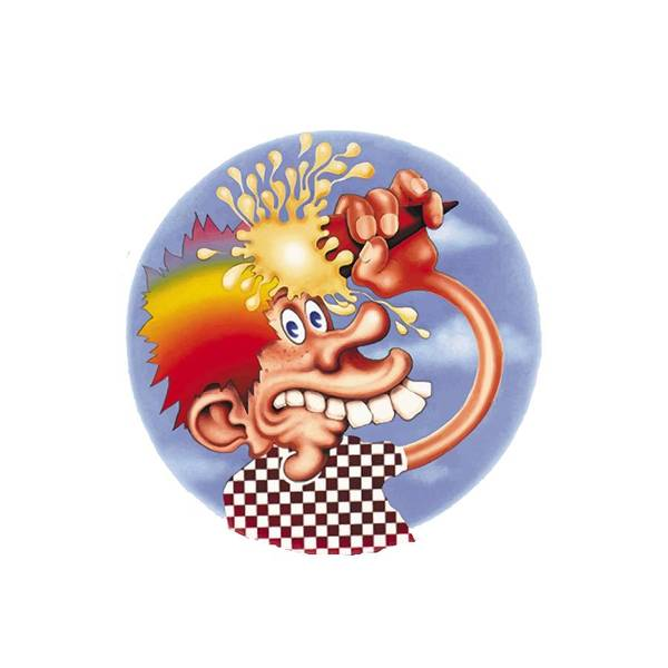 Steal Your Face Poster featuring the digital art Grateful Dead Europe 72' by Gd