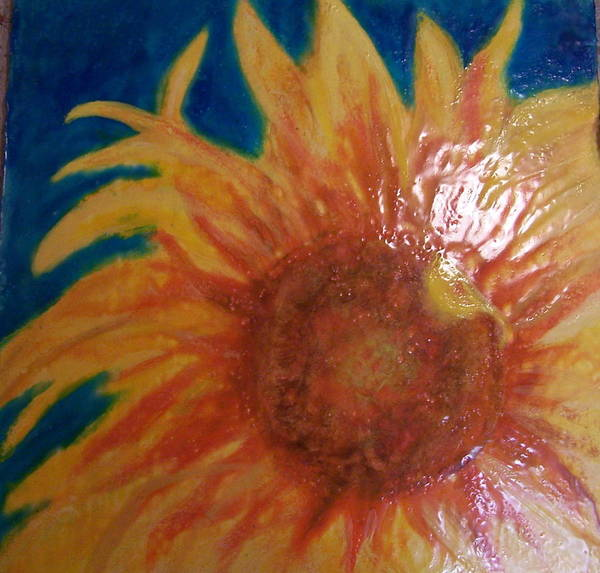 Still Life Poster featuring the painting Here Comes The Sun 2.0 by Karla Phlypo-Price