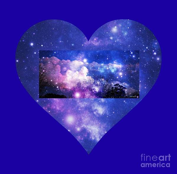 Night Sky Poster featuring the photograph I Love The Night Sky by Leanne Seymour