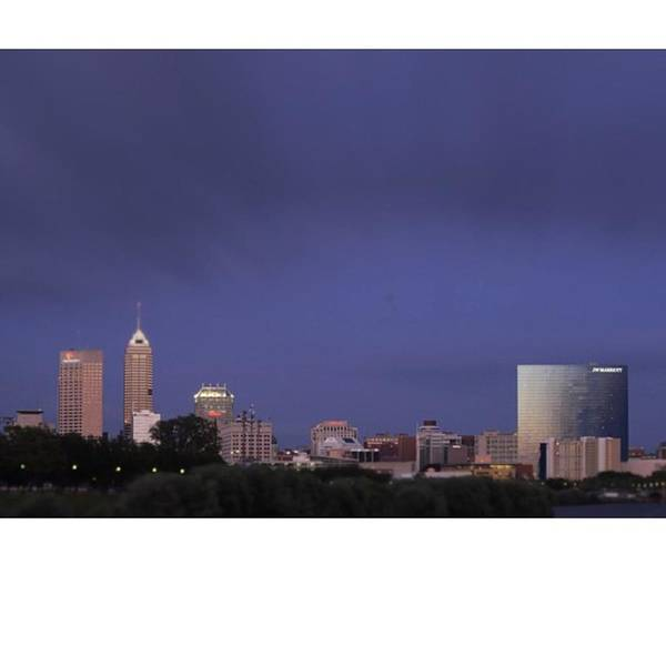 Imajaguar Poster featuring the photograph #indiana #indy #indianapolis #naptown by David Haskett II