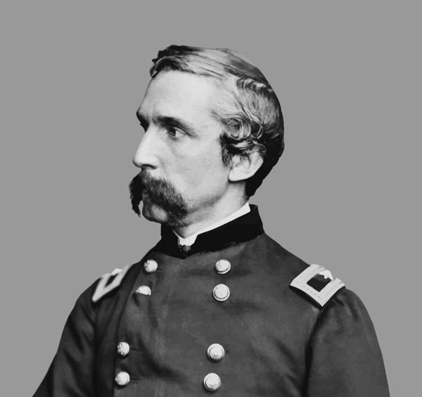General Chamberlain Poster featuring the painting Joshua Lawrence Chamberlain by War Is Hell Store