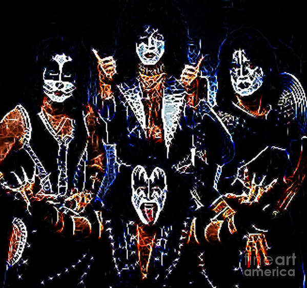Kiss Poster featuring the photograph Kiss by Paul Ward