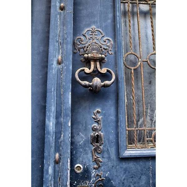 Europe Poster featuring the photograph #love #france #doors #blue #europe by Georgia Fowler