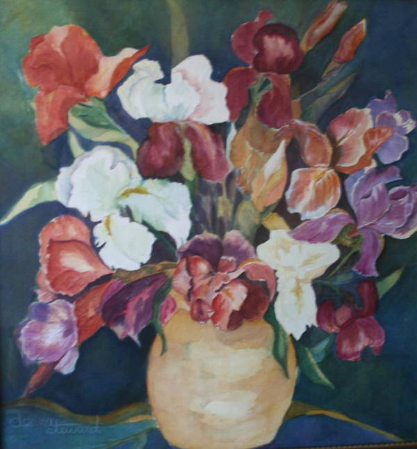 Flowers Poster featuring the painting Love Language by Donna Steward