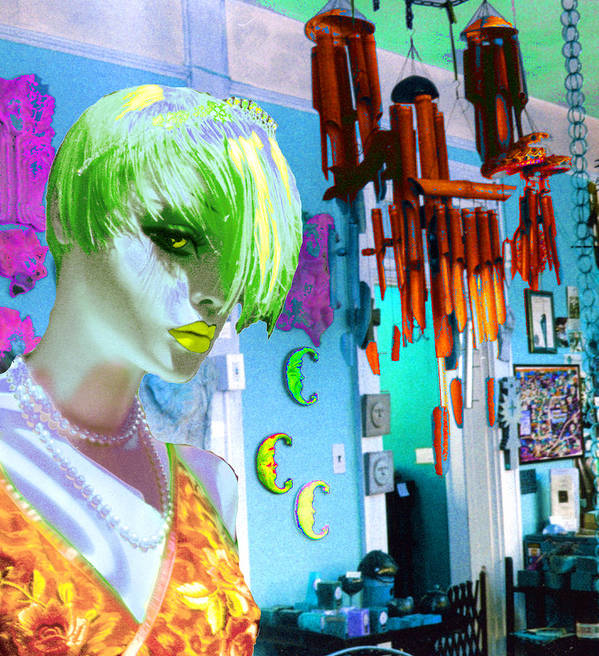 Woman Poster featuring the digital art New by Sarah Crumpler