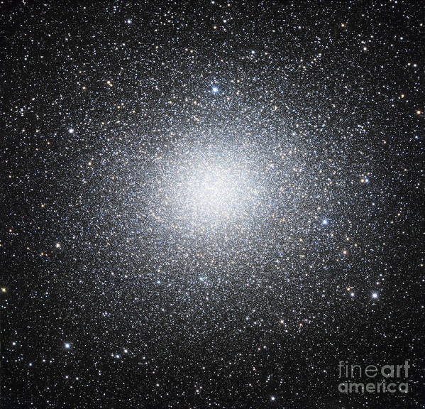 Astronomy Poster featuring the photograph Omega Centauri Or Ngc 5139 by Robert Gendler