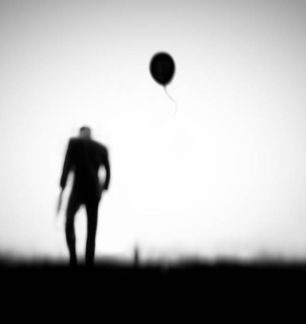 Balloon Poster featuring the photograph One Last Chance by Hengki Lee