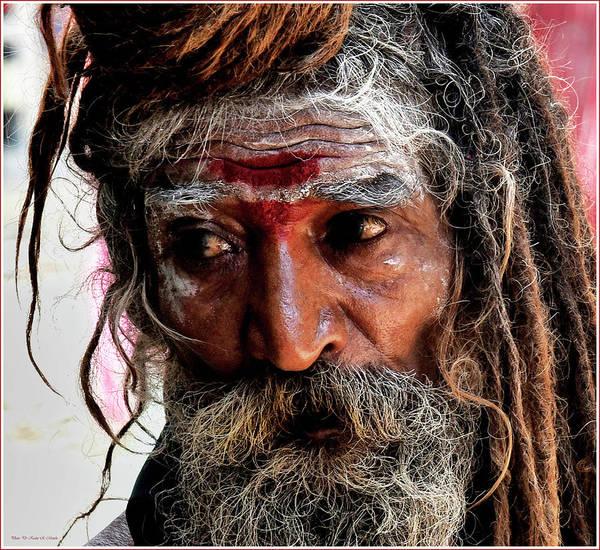 Portrait Poster featuring the photograph Portrait On The Ganges by Kedar Munshi