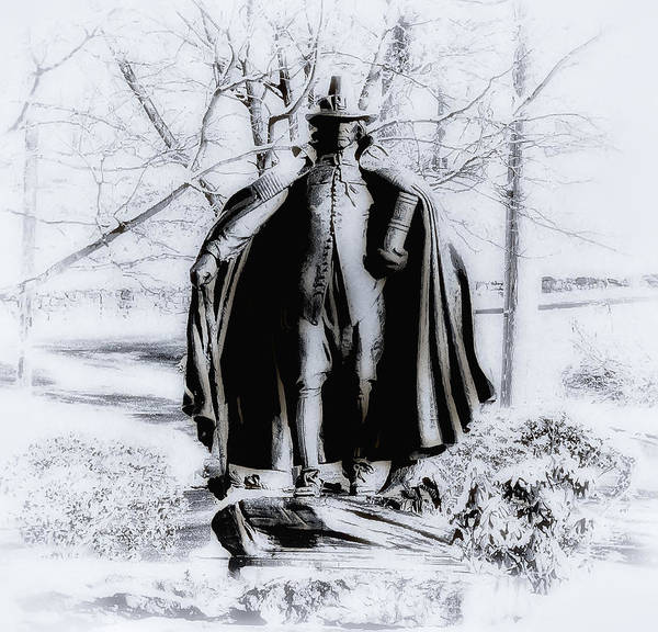 Fairmount Park Poster featuring the photograph Quaker Pilgrim by Bill Cannon