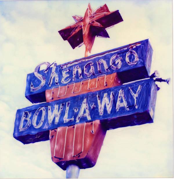 Nostalgia Poster featuring the photograph Shenango Bowl-a-way by Steven Godfrey