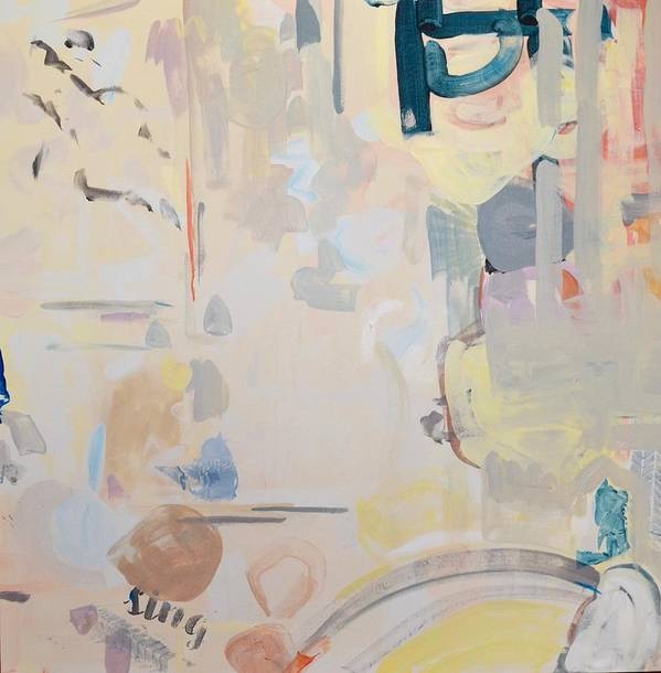 Abstract Poster featuring the painting Spring Fling by Margaret Huntley Harrison