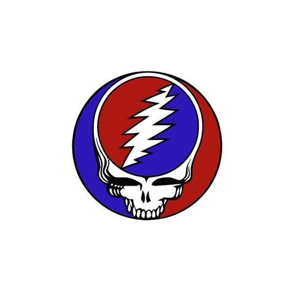 Steal Your Face Poster featuring the digital art Steal Your Face by Gd
