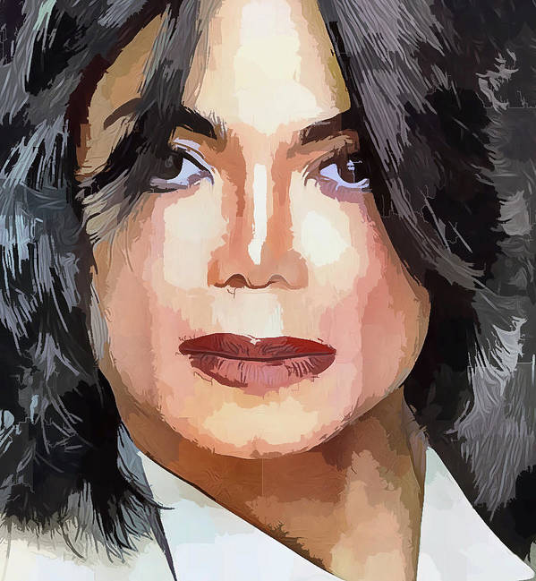 Michael Poster featuring the digital art The Jackson by Yury Malkov