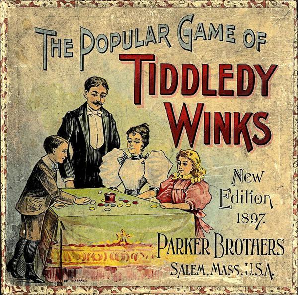 Tiddledy Winks Poster featuring the digital art Tiddledy Winks by Newwwman