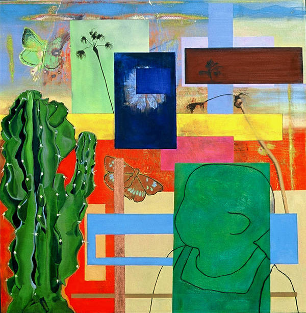 Cactus Poster featuring the painting Tucson Miami Baby by Carolina Stosius
