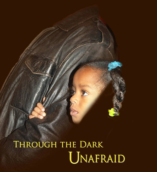 Poster featuring the photograph Unafraid2 by Richard Gordon