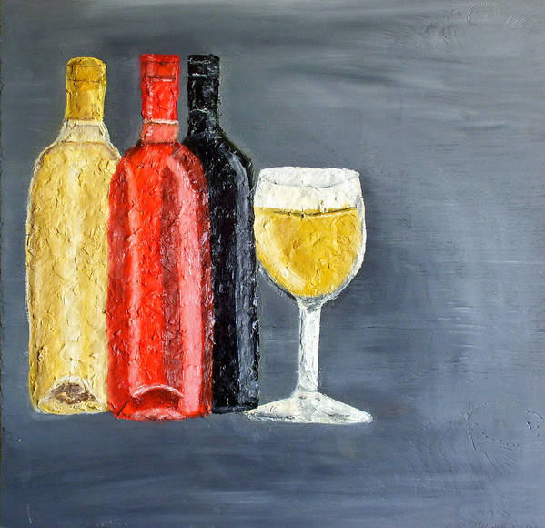 Still Life Paintings Poster featuring the painting What Flavor Would You Like by Leslye Miller