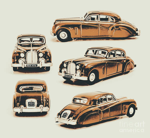 Retro Poster featuring the photograph Retro Rides by Jorgo Photography - Wall Art Gallery
