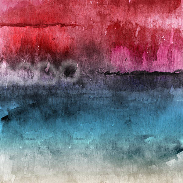 Abstract Poster featuring the painting Awakened 4- Abstract Art by Linda Woods by Linda Woods