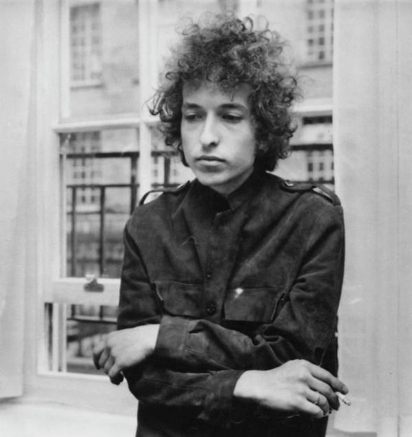 Bob Dylan Poster featuring the photograph Bob Dylan 1966 by Express Newspapers