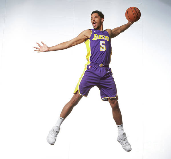 Nba Pro Basketball Poster featuring the photograph Josh Hart by Nathaniel S. Butler
