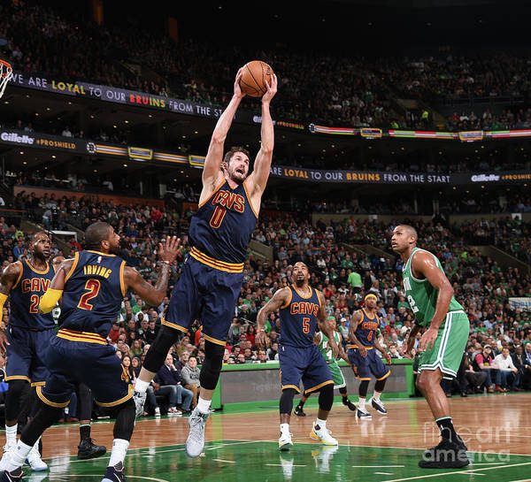 Nba Pro Basketball Poster featuring the photograph Kevin Love by Brian Babineau