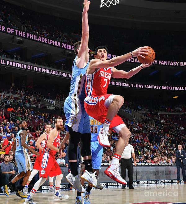 Nba Pro Basketball Poster featuring the photograph Ersan Ilyasova by Jesse D. Garrabrant