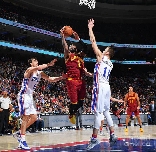 Nba Pro Basketball Poster featuring the photograph Kyrie Irving by Jesse D. Garrabrant