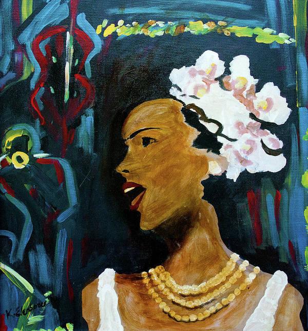 Jazz Singer by Kinya Christian