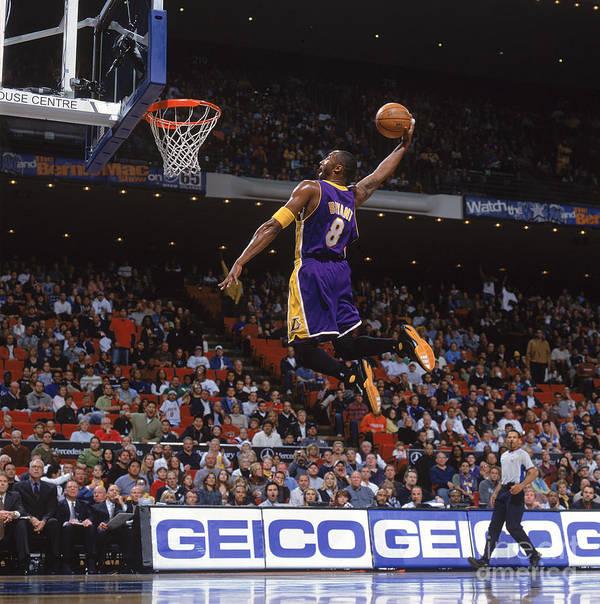 Nba Pro Basketball Poster featuring the photograph Kobe Bryant by Fernando Medina