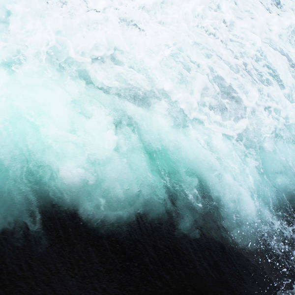 Ocean Poster featuring the photograph Ocean Spray by Cassia Beck