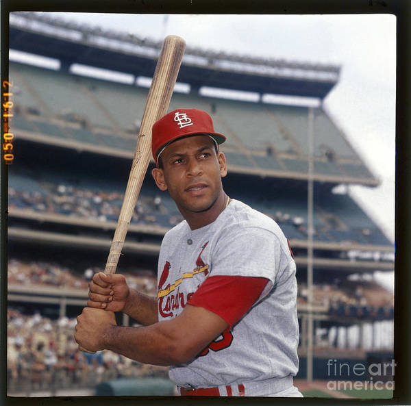St. Louis Cardinals Poster featuring the photograph Orlando Cepeda by Louis Requena